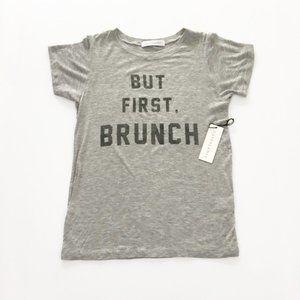 New Daydreamer But First Brunch Graphic Tee Shirt